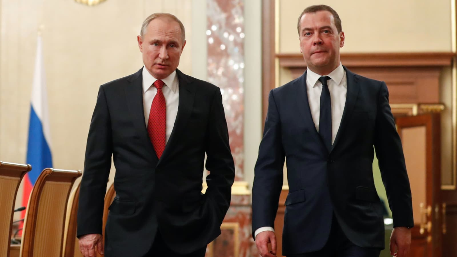 Putin S Call For Reform Of Russia Govt Leads To Medvedev Resignation