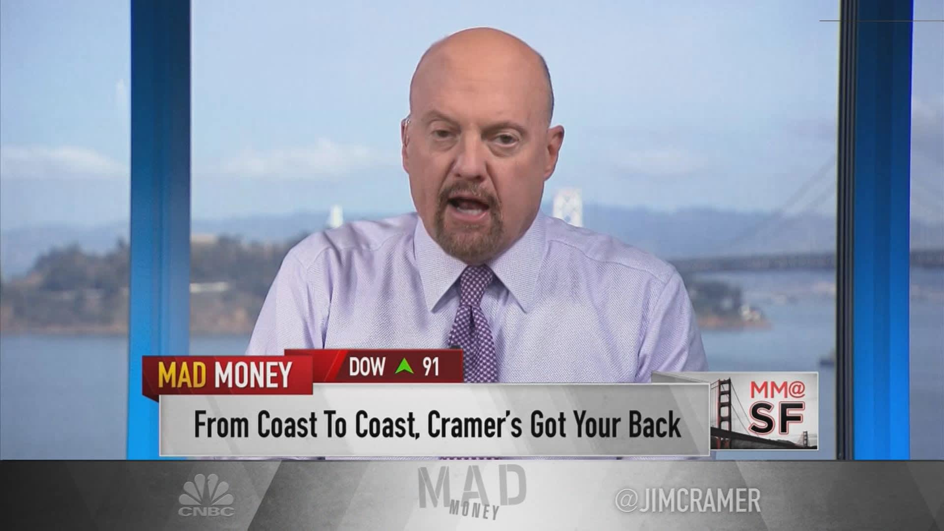 Jim Cramer: Stocks of companies with new access to China are worth buying into weakness