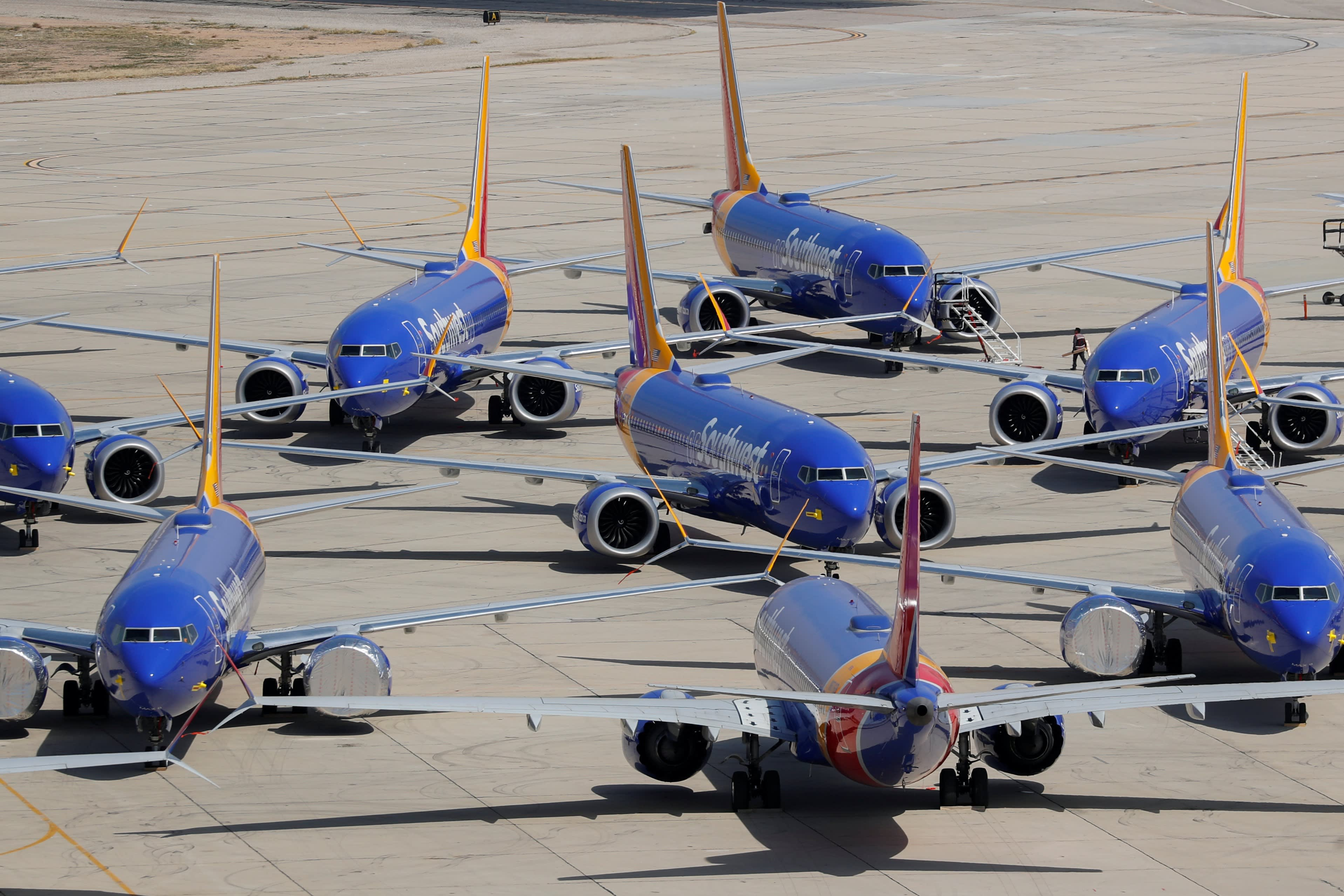 Southwest pulls Boeing Max until June as airlines dig in for delays ahead of peak summer season