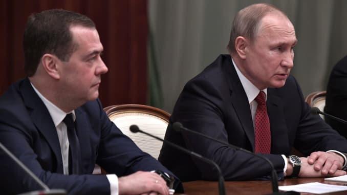 Premium: Russian government resigns following Putin's address