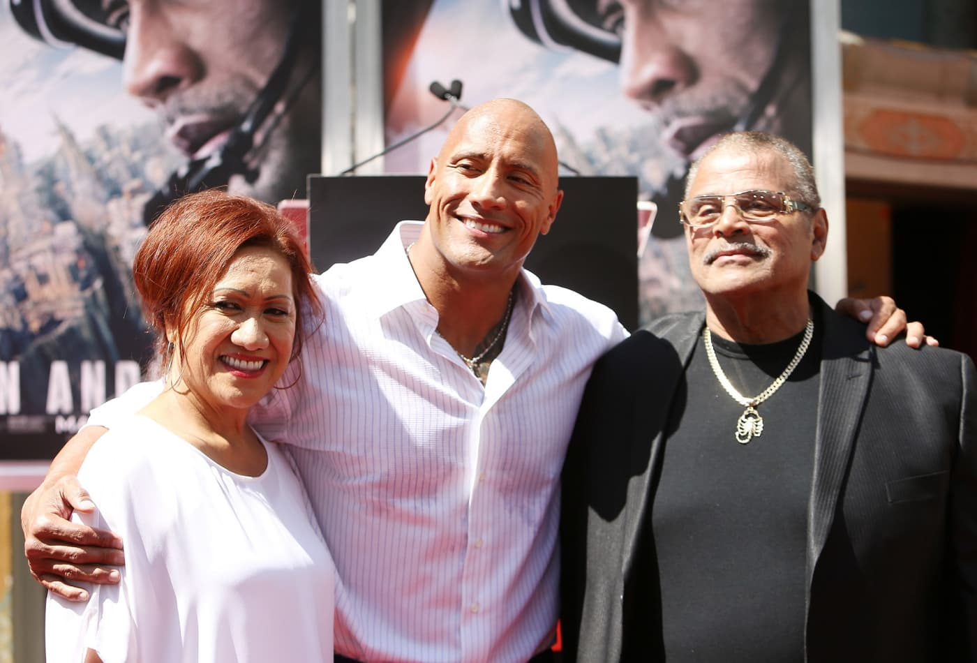 Dwayne 'The Rock' Johnson says his dad taught him to give every 'ounce of effort you can'