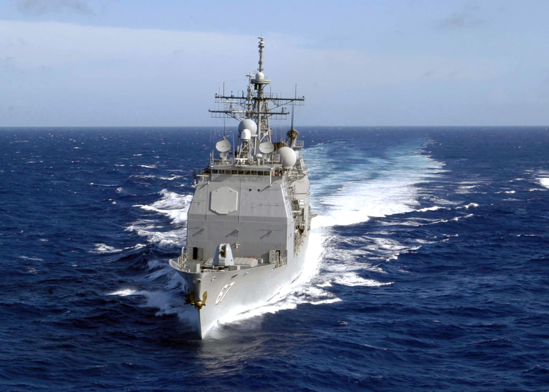 US warship transits Taiwan Strait less than week after election