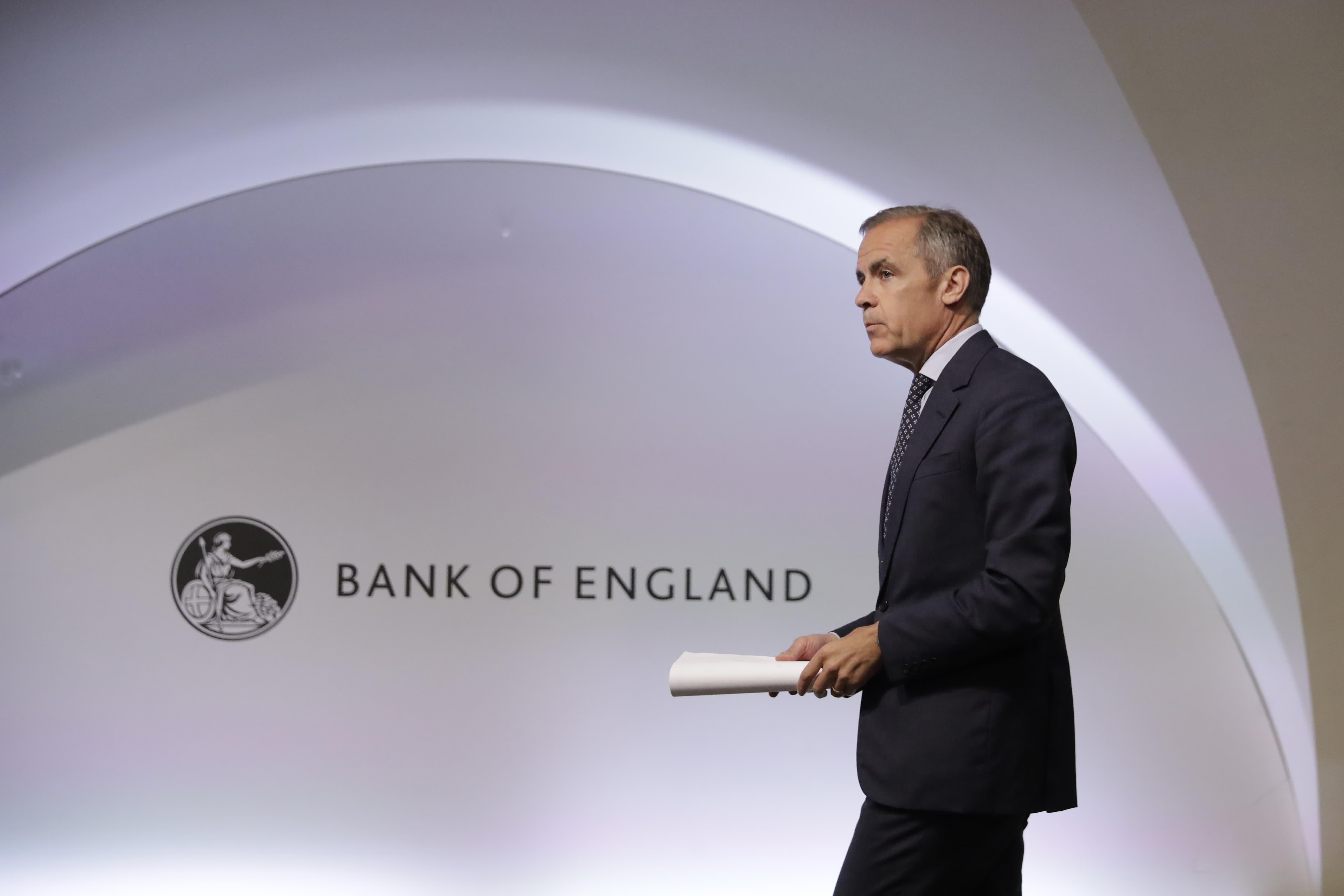 Bank of England's Carney named as Boris Johnson advisor for climate change summit