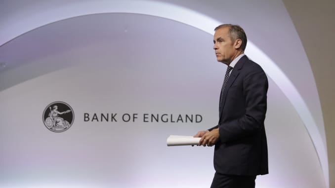 GP: Mark Carney Bank of England Financial Stability Report Press Conference