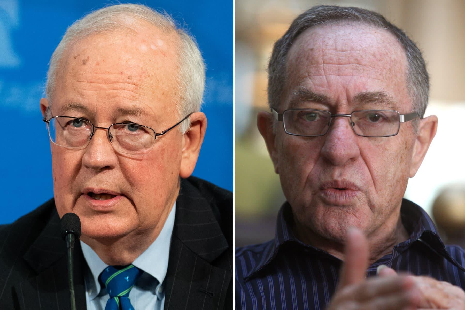 Trump impeachment defense team will include Clinton prosecutor Ken Starr and Jeffrey Epstein lawyer Alan Dershowitz