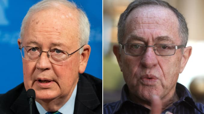 Image result for images of Kenneth Starr and Alan Dershowitz""