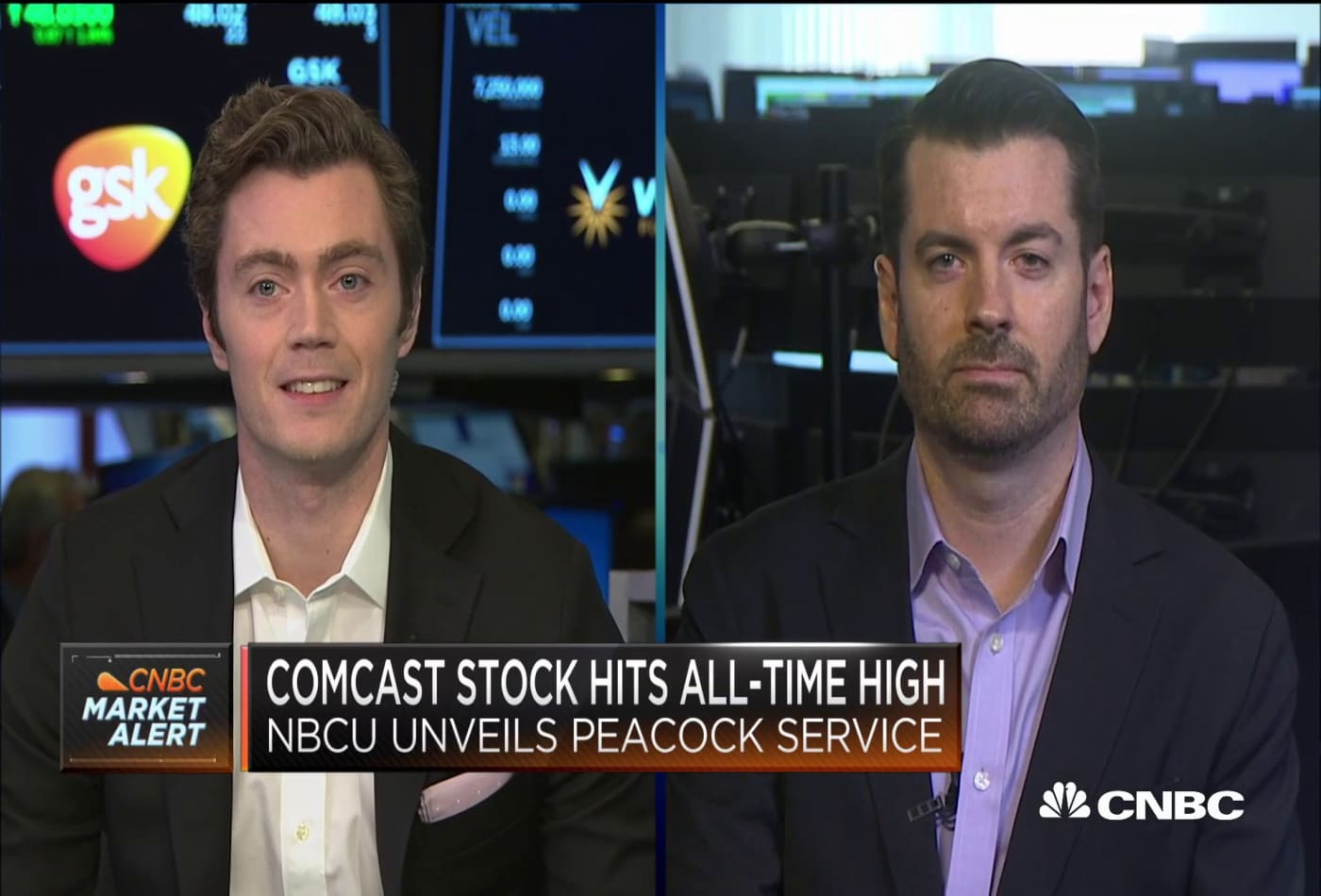 Comcast stock hits all-time high after streaming service details revealed