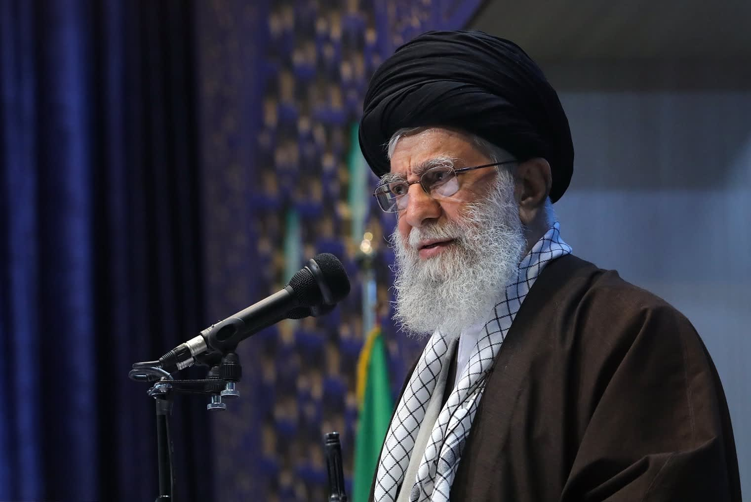 Iran's supreme leader calls Trump a 'clown' who will betray Iranians with a 'poisonous dagger'