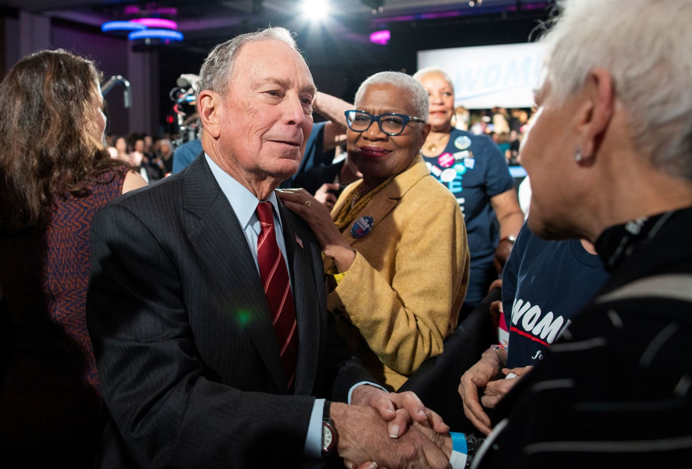 Mike Bloomberg is assembling a team of fundraising experts to recruit wealthy donors – but not to take their money