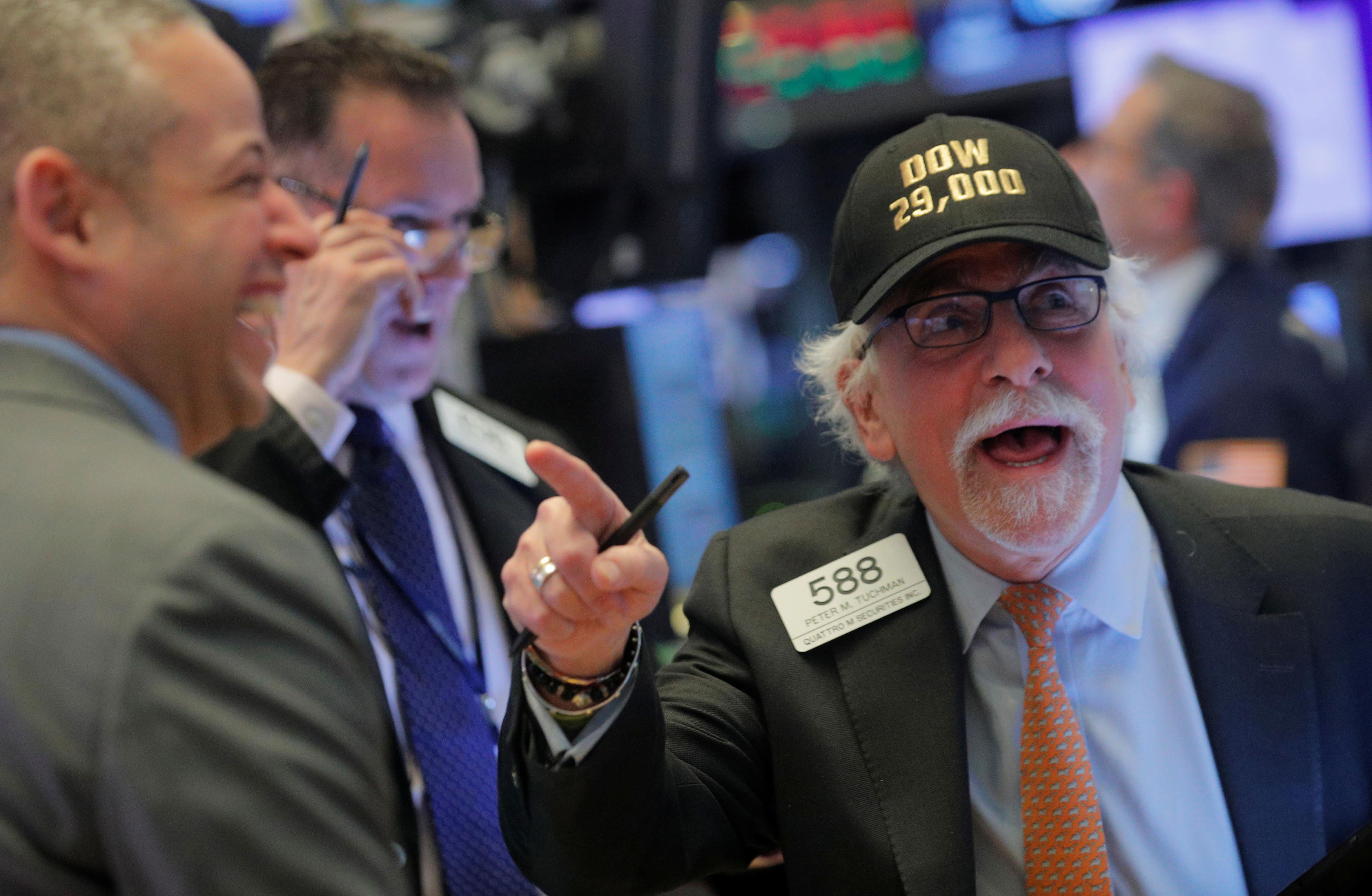 Live stock market updates: S&P 500 record, mystery housing move, coronavirus, chips jump
