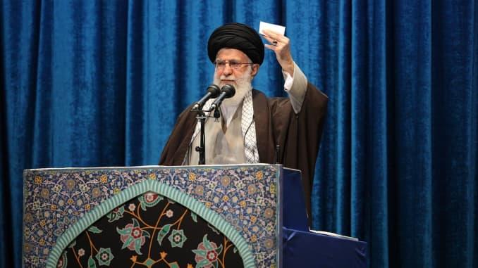 GP: Iranian Supreme Leader Ayatollah Ali Khamenei - 106343076