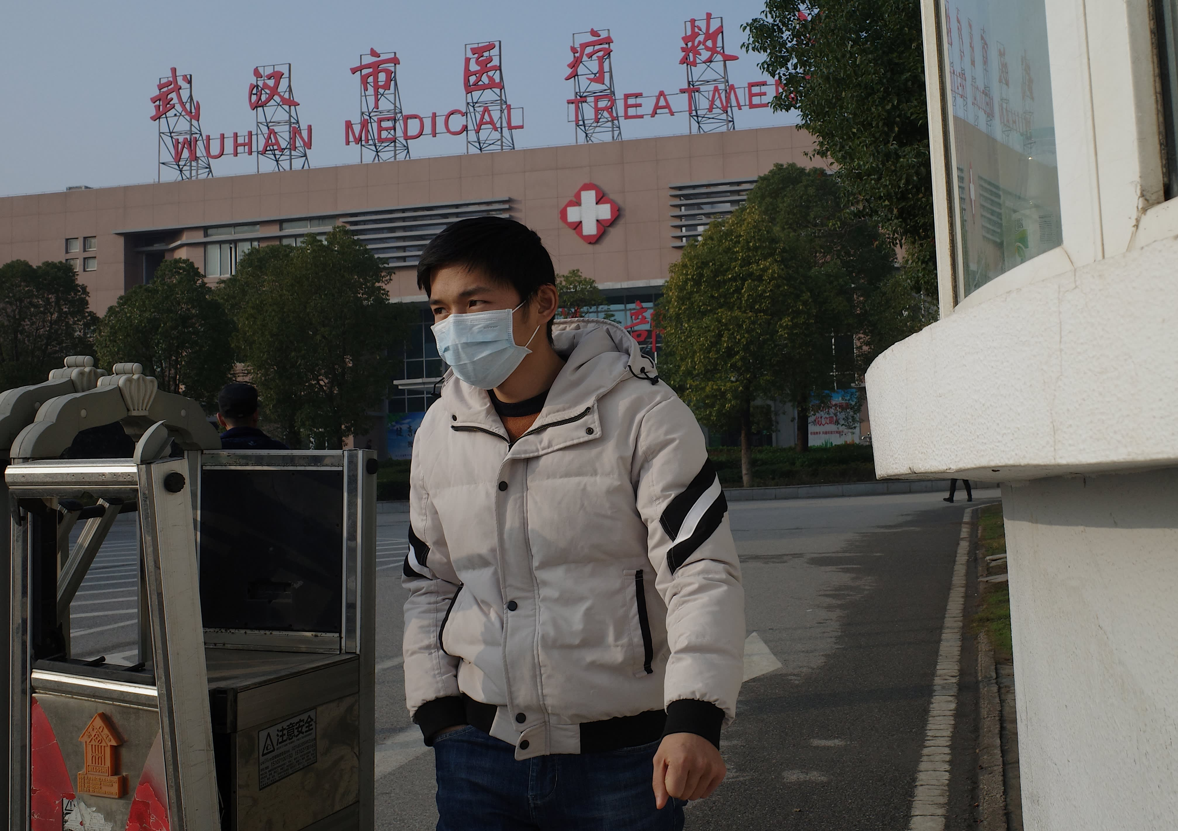 China says it is building 1,000-bed hospital over the weekend to treat coronavirus