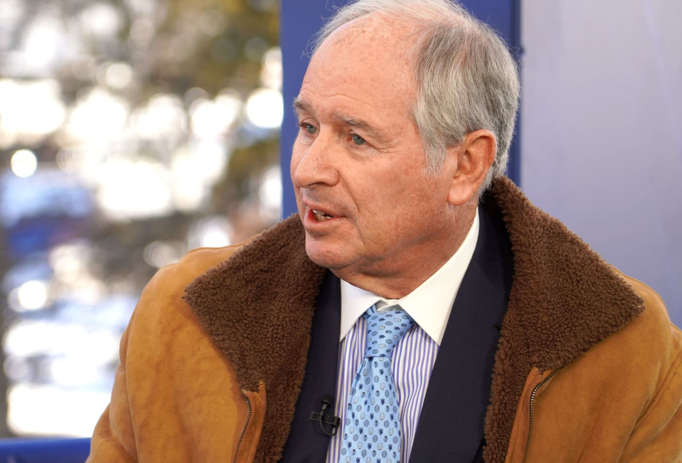 Blackstone's Steve Schwarzman sees 'much fewer things' to buy because assets are so expensive