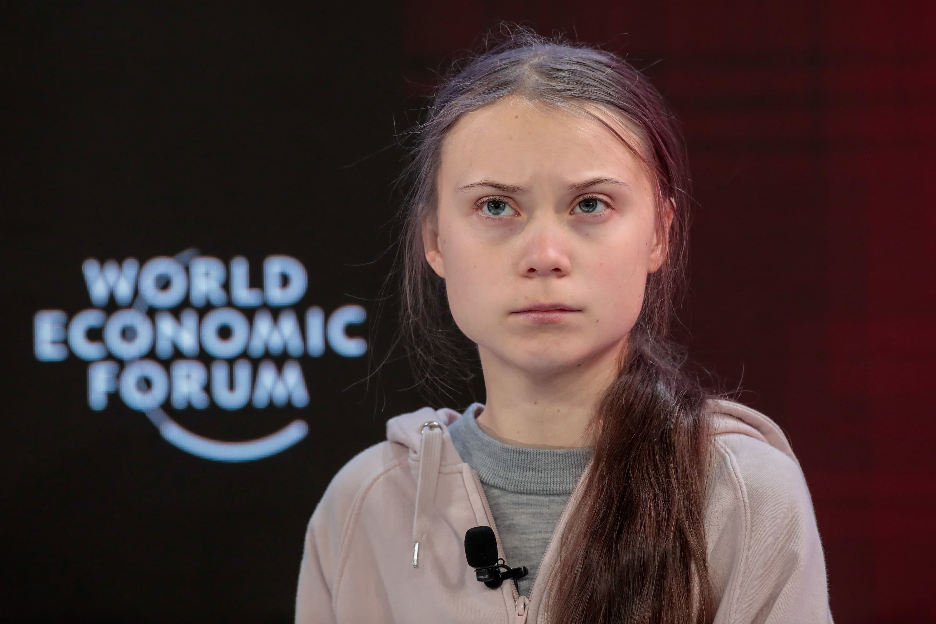 'Our house is still on fire,' Greta Thunberg tells Davos