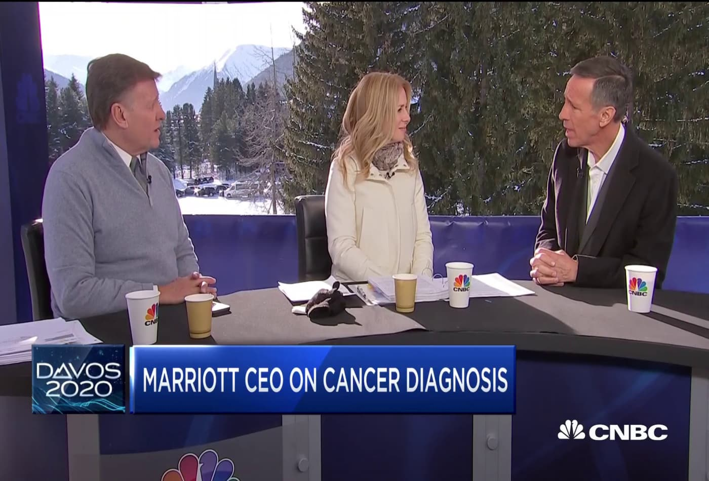 Watch CNBC's full interview with Marriott CEO Arne Sorenson