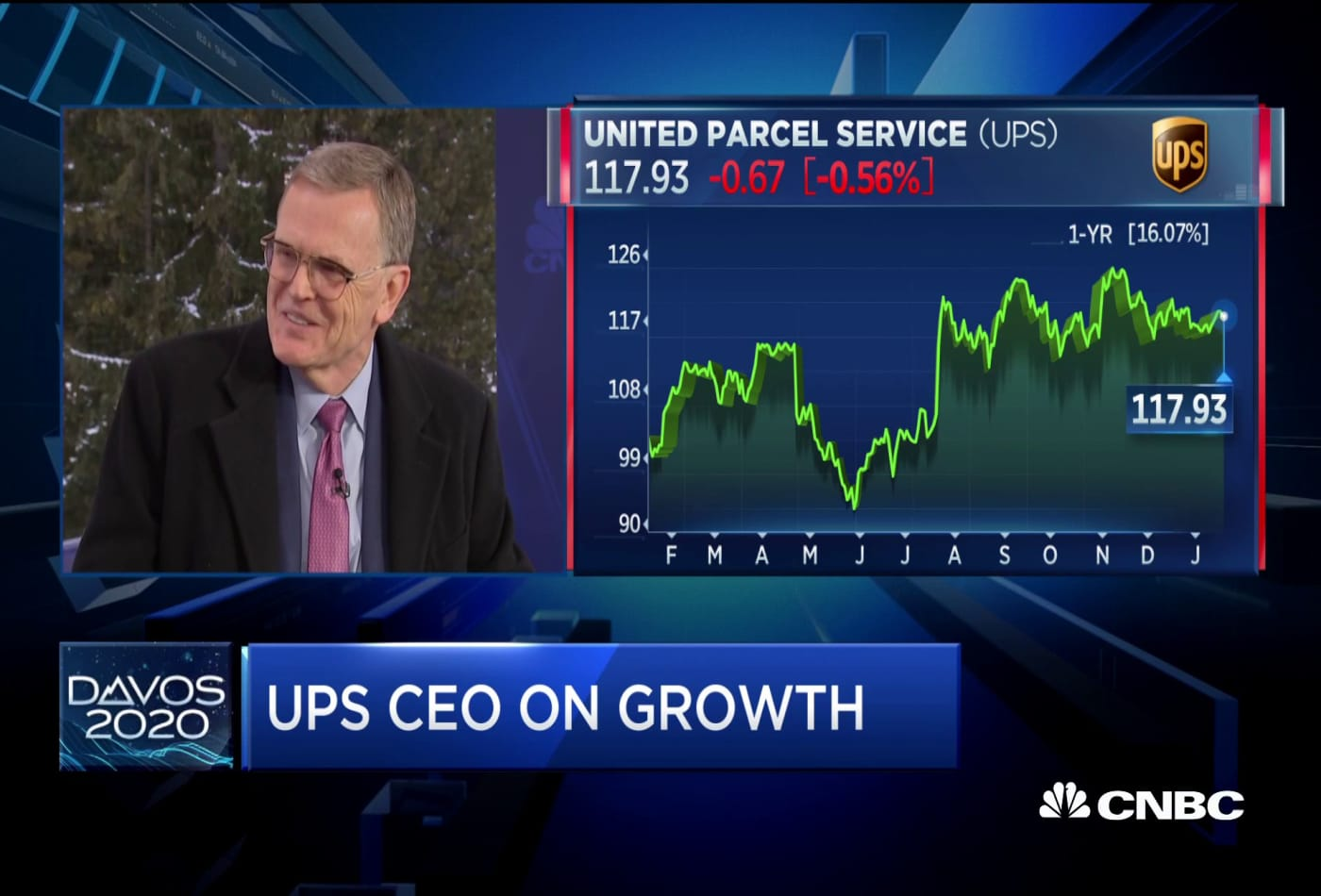 UPS CEO: E-commerce over the holidays picked up faster than we thought