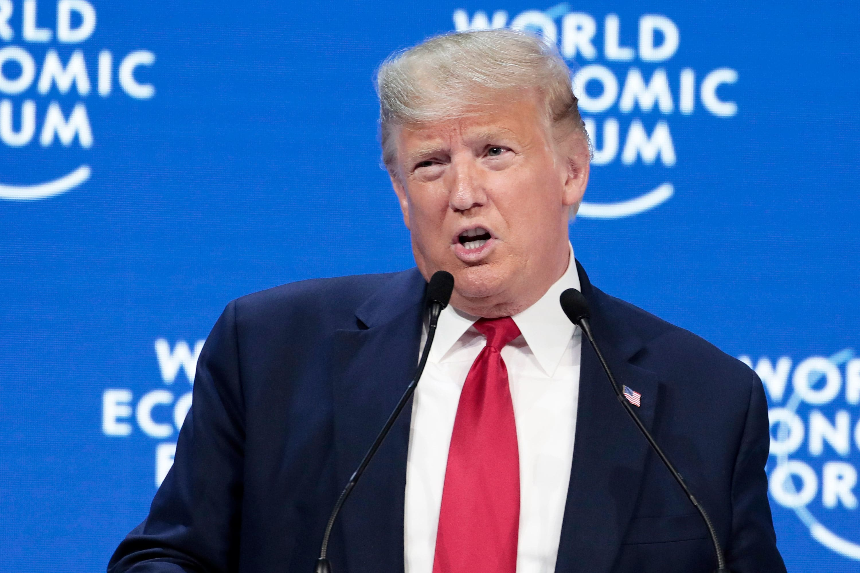 Leaders at Davos doubt China and US will reach a phase 2 trade deal by end of Trump's term