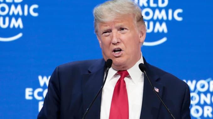 GP: 2020 WEF DAVOS: Donald Trump 200121 - 106346493