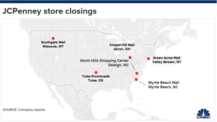 Jc Penney Is Closing 6 S This Year