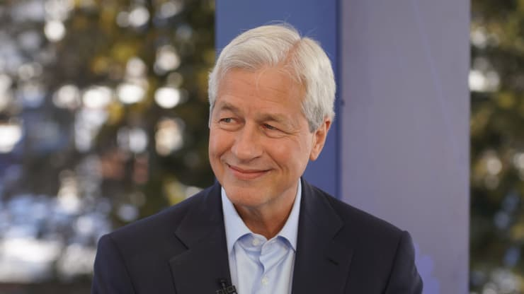 Jamie Dimon says JPMorgan Chase is on the hunt for its next big acquisition