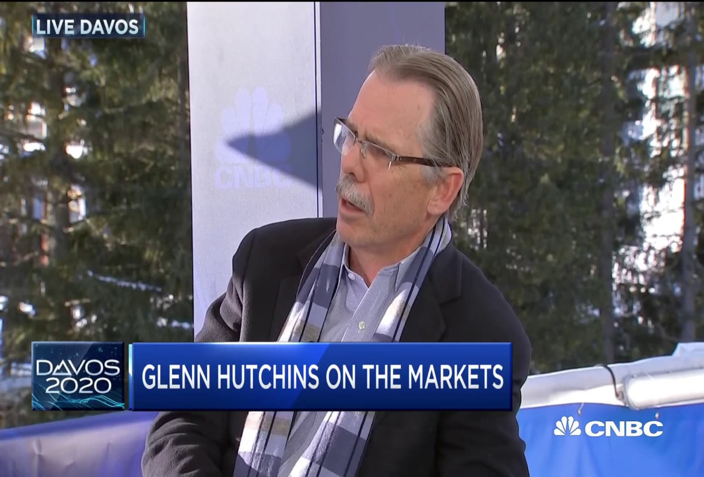 Why Glenn Hutchins has a 'great deal of concern' over the administration's fiscal policy