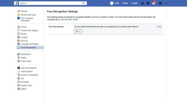 CNBC Tech: Facebook face recognition