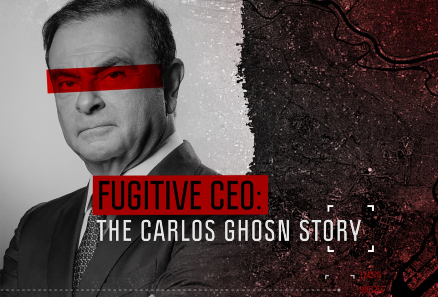 Here's a preview of CNBC's documentary on Carlos Ghosn's escape from Japan