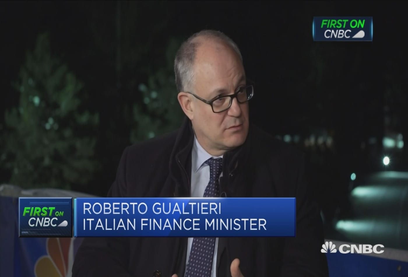Want a global solution to digital taxation, Italian economy minister says