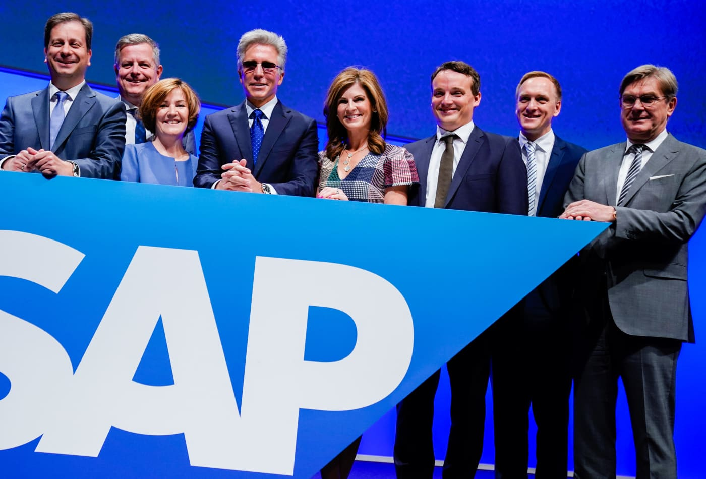 SAP's new CEOs on the threat from Oracle: 'We are winning market share'