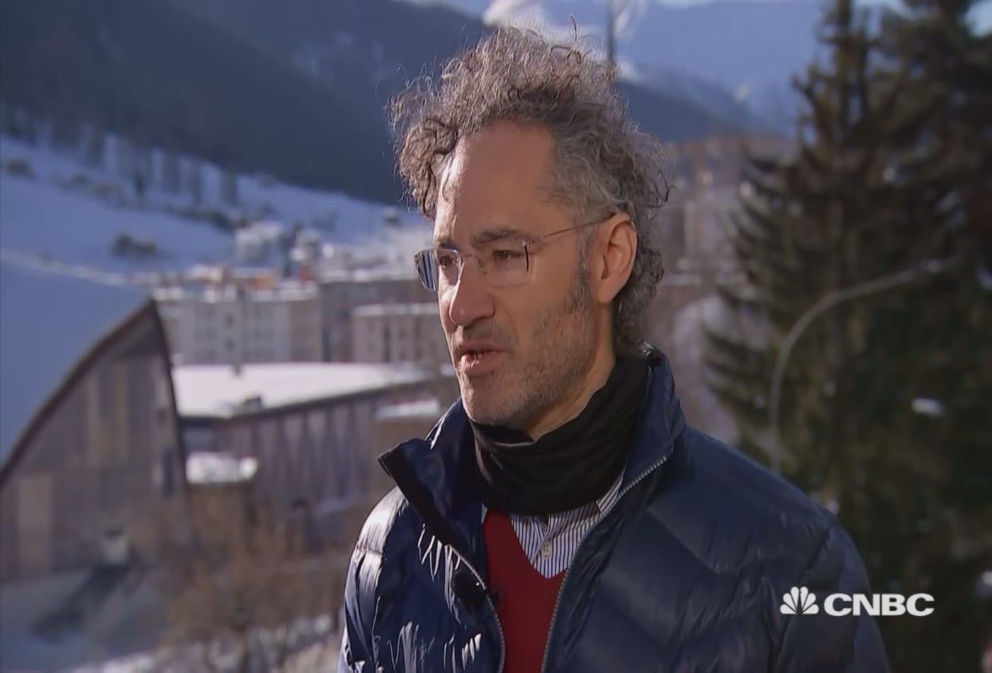 Watch CNBC's Full Interview with Palantir CEO Alex Karp at Davos