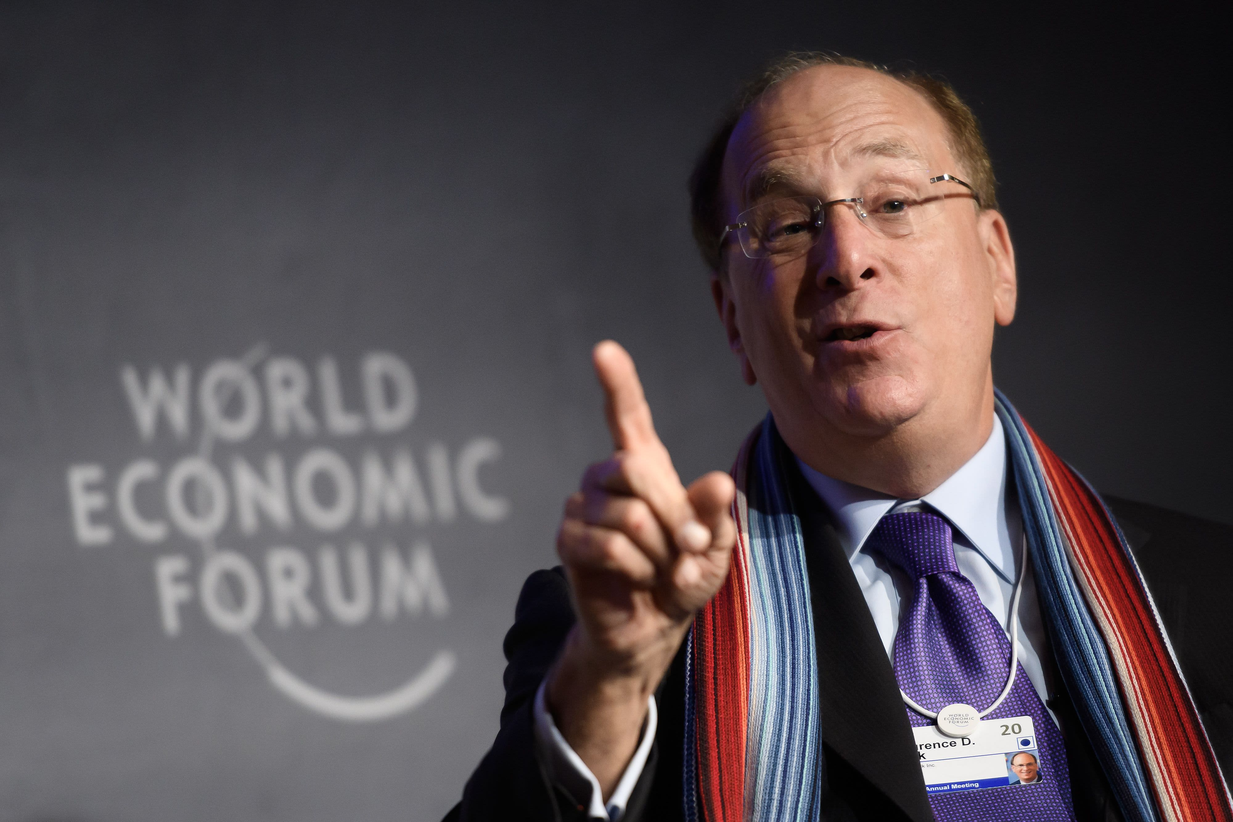 BlackRock's Larry Fink says he feared a 'severe backlash' for his climate crisis letter to CEOs