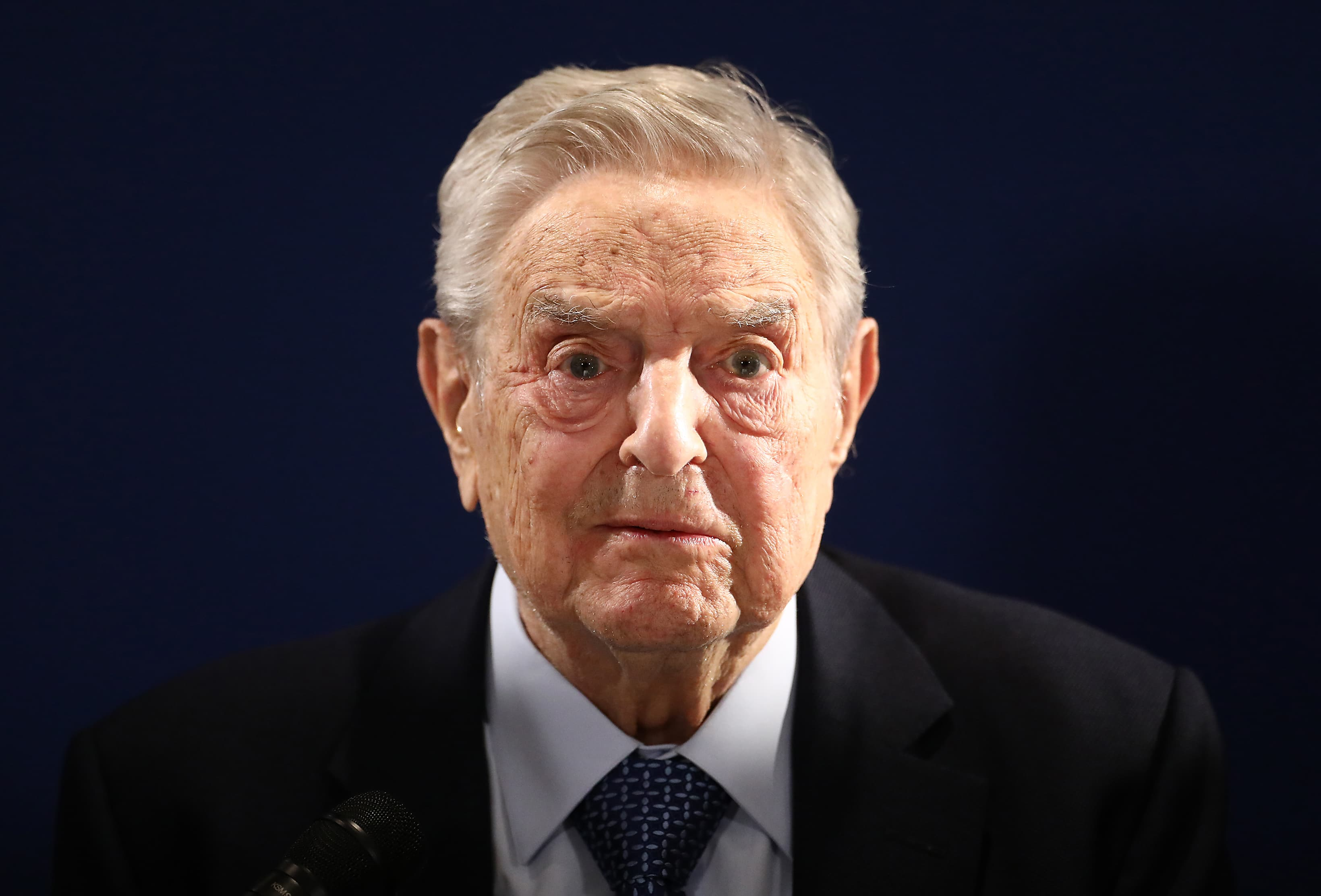 George Soros says US should not work closely with China on coronavirus