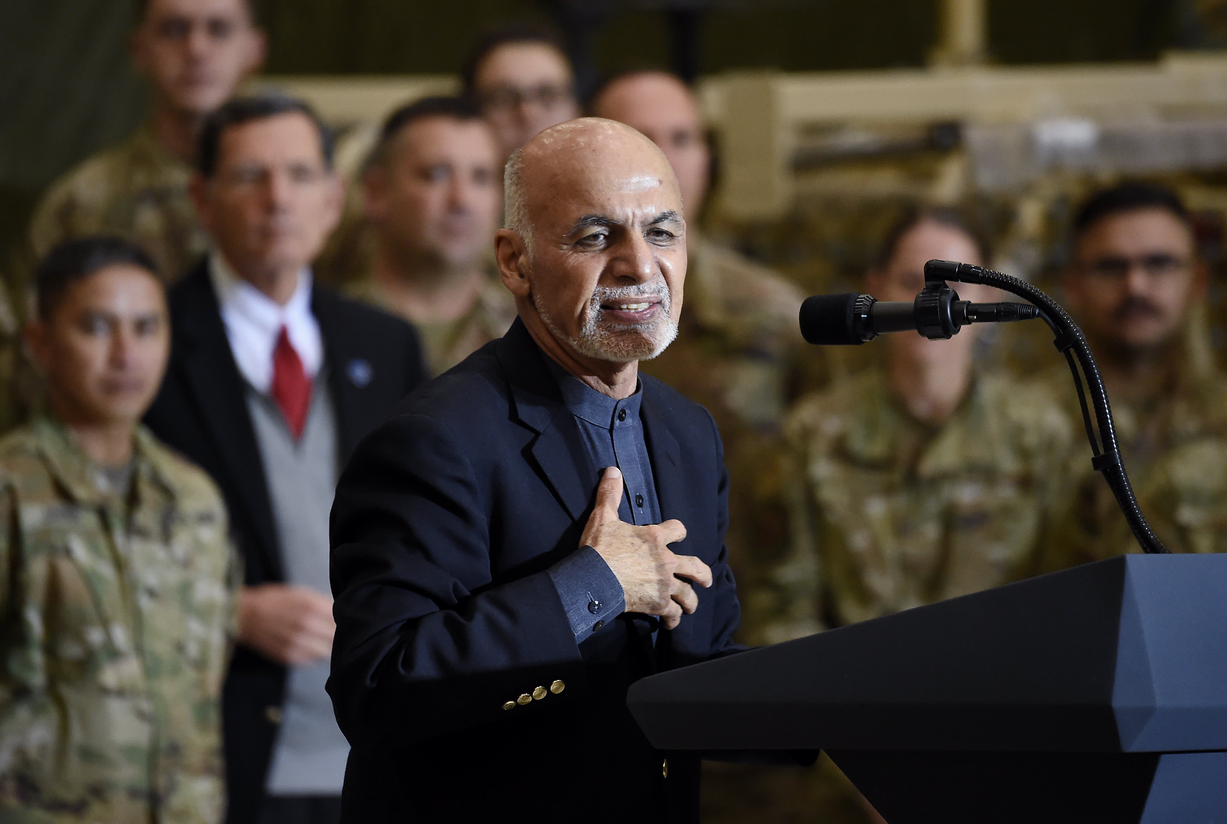 Afghanistan did not commit to release 5,000 Taliban, Ghani says