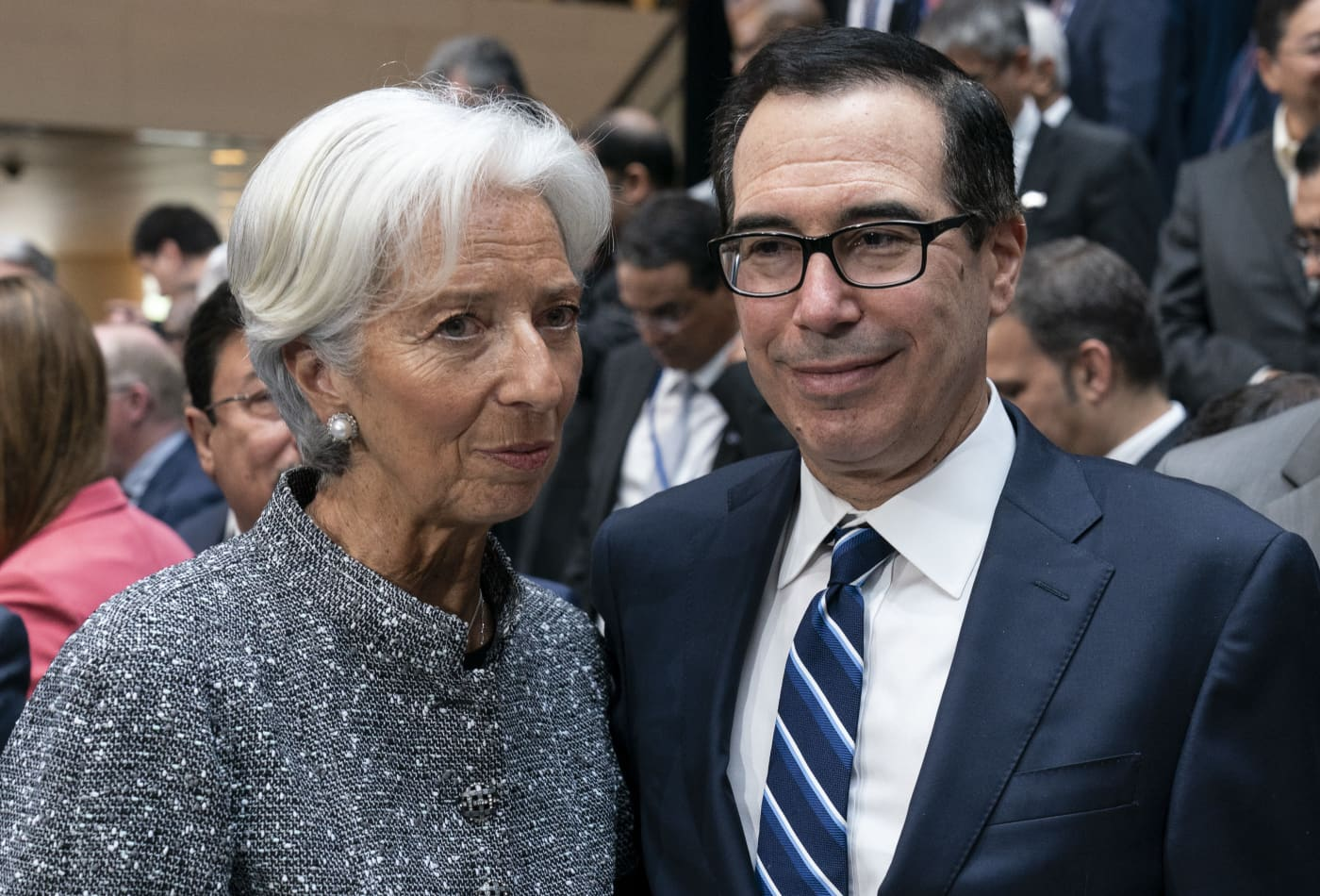 'If you want to put a tax on people, go ahead': Lagarde and Mnuchin clash over energy transition