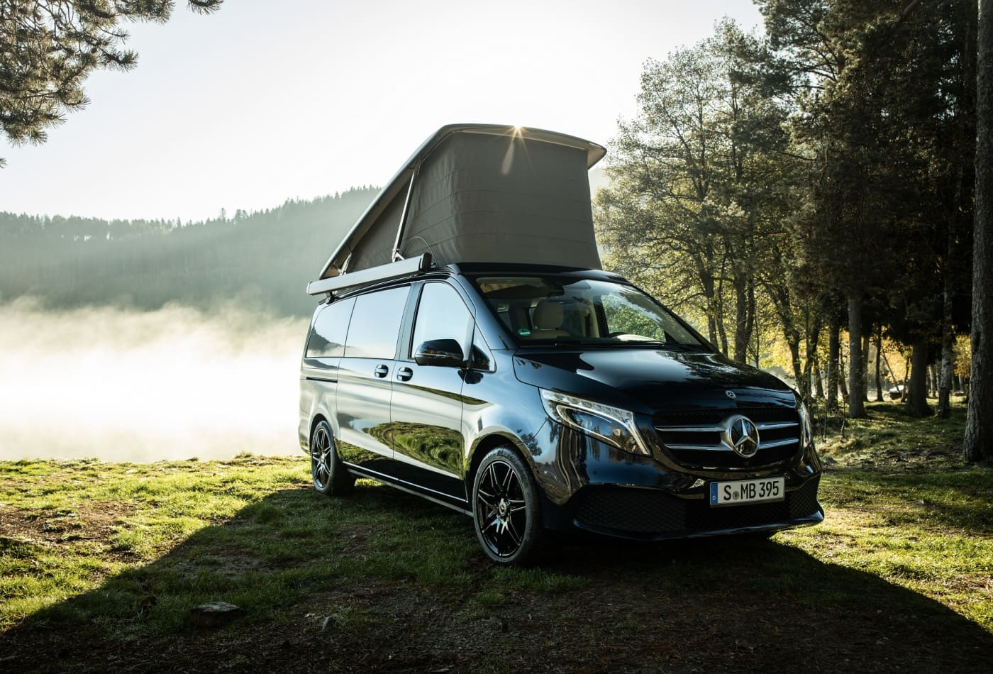 This Mercedes-Benz camper van is a 'smart home' on wheels—take a look inside