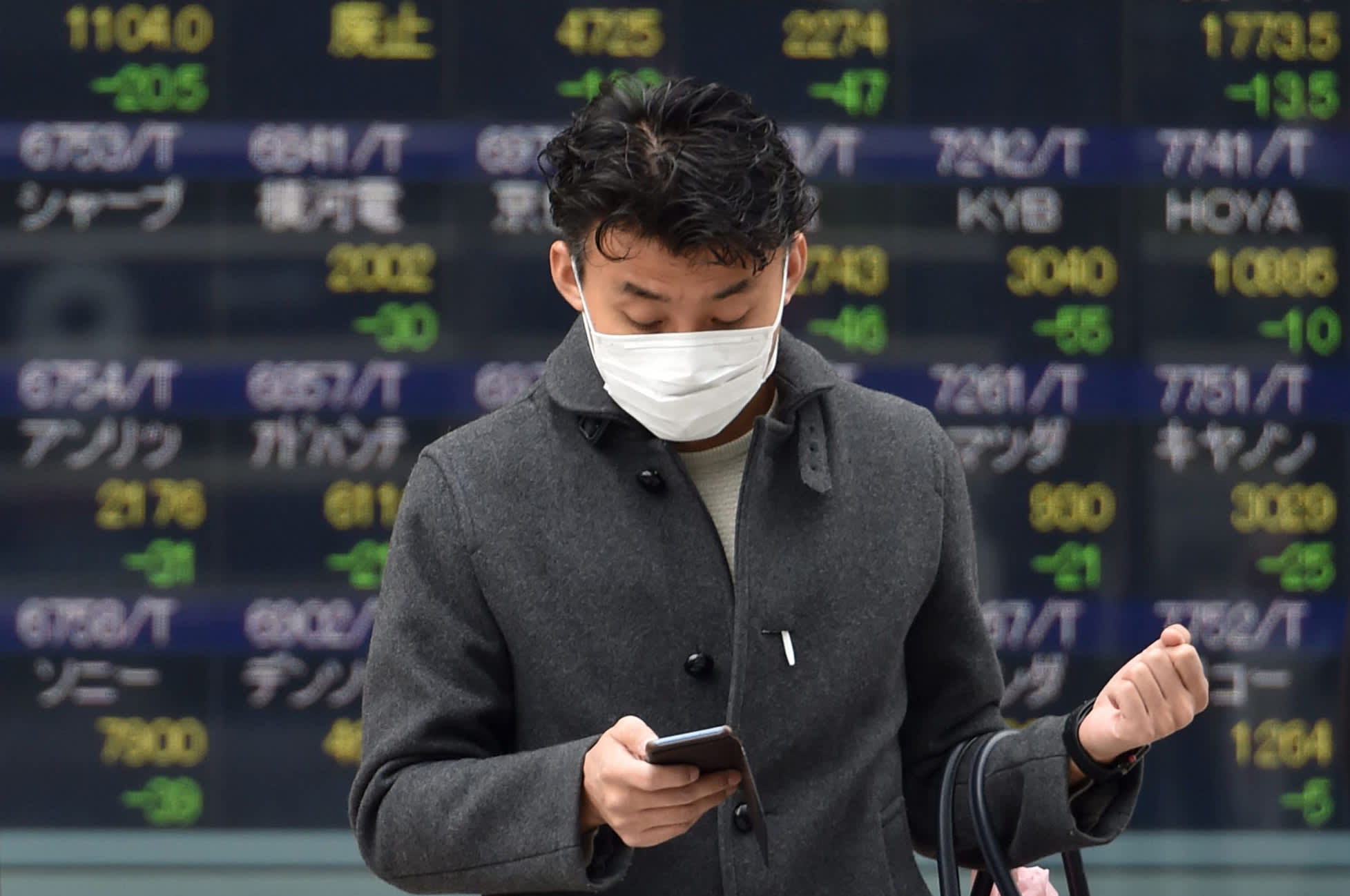 Japan stocks drop 5%, China and Hong Kong shares plunge beyond 3% amid oil price war
