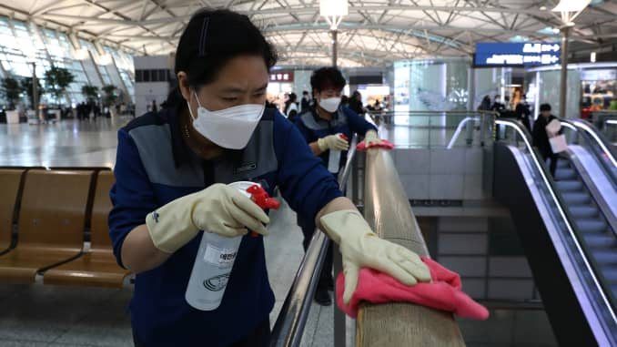GP: Coronavirus China's Wuhan Coronavirus Spreads To South Korea