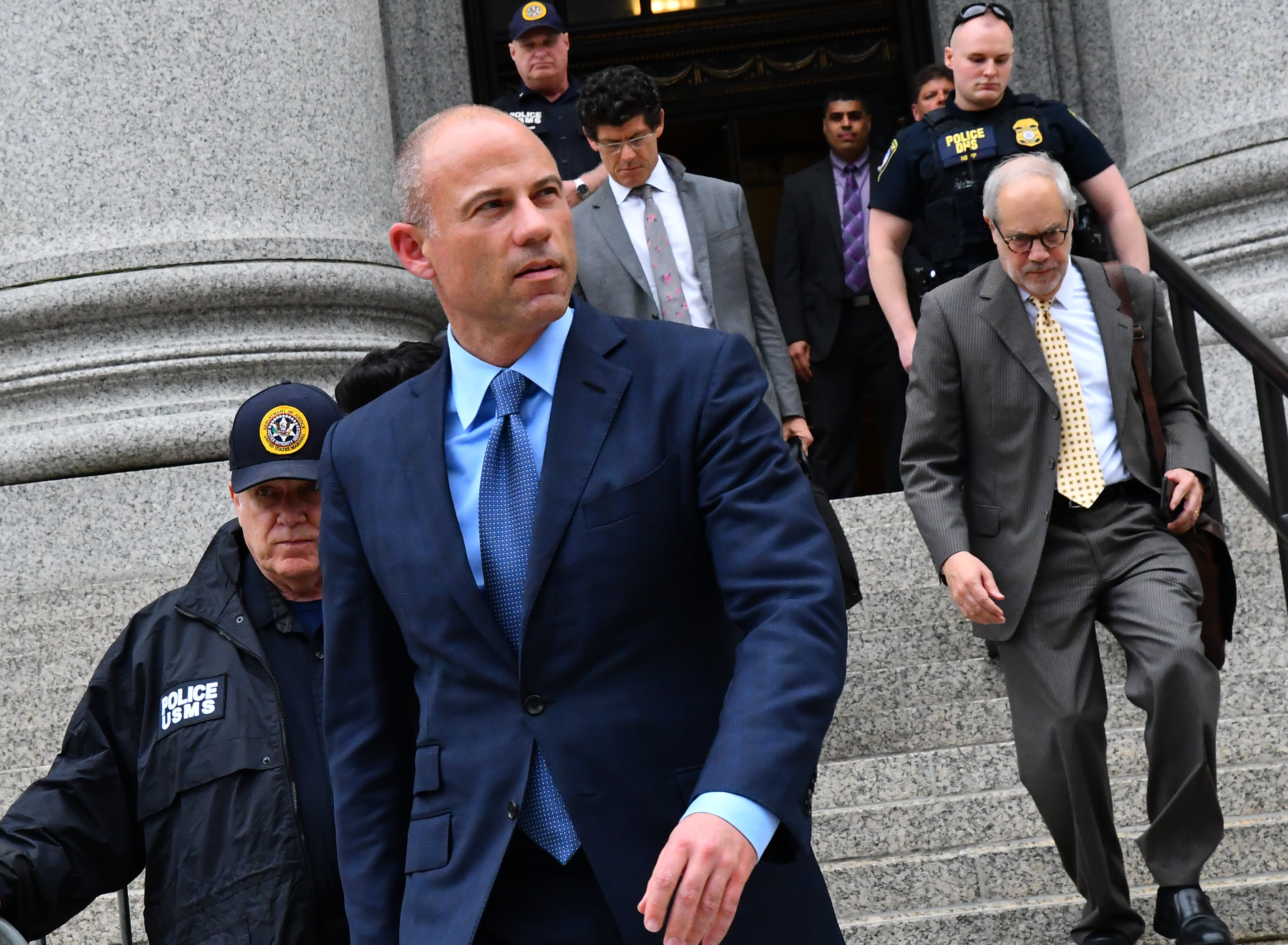 Michael Avenatti searched web for 'insider trading' and 'Nike put options' while trying to extort shoe giant, feds say