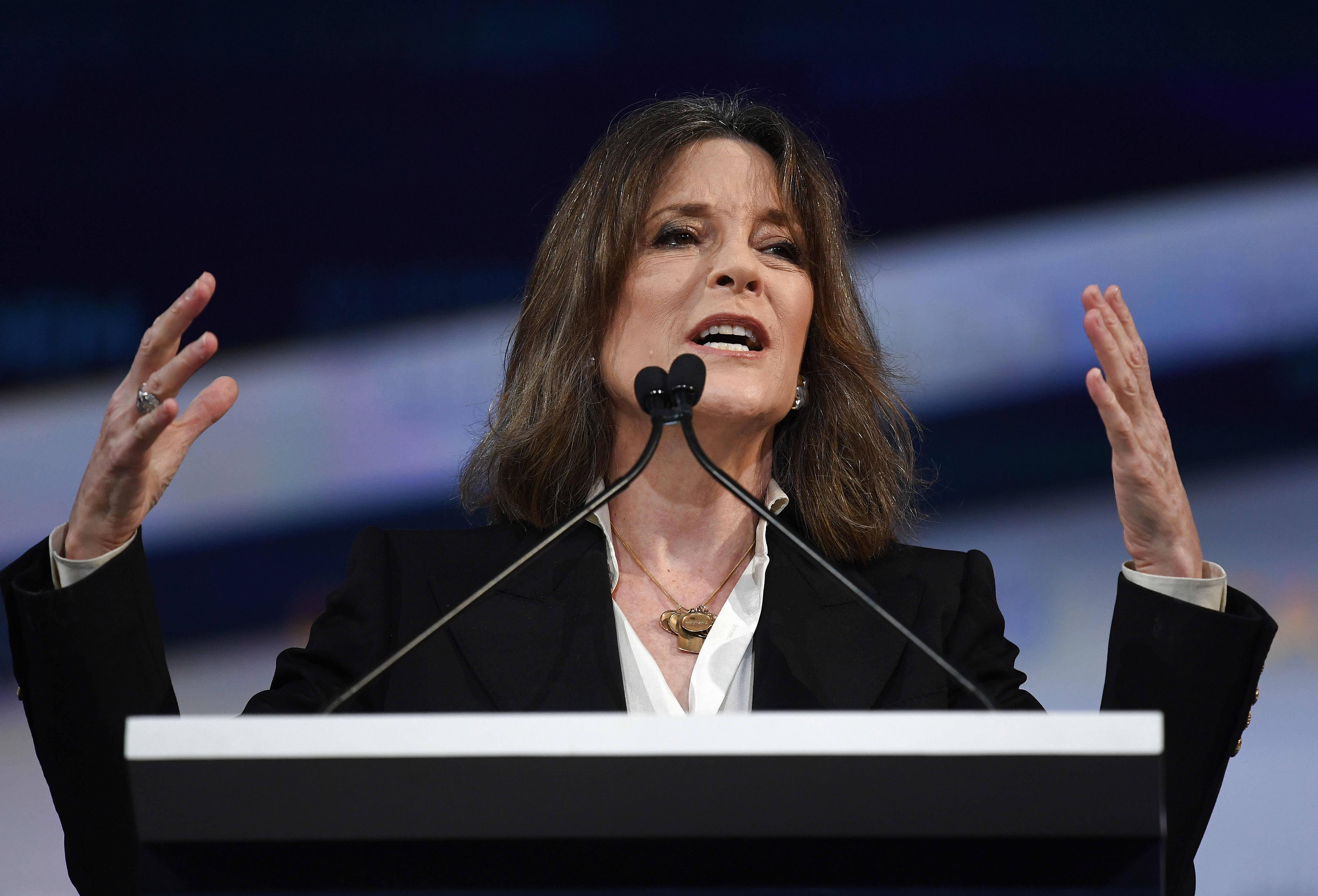 Marianne Williamson sells $149 tickets for 'love and power' seminar to pay off presidential campaign debt
