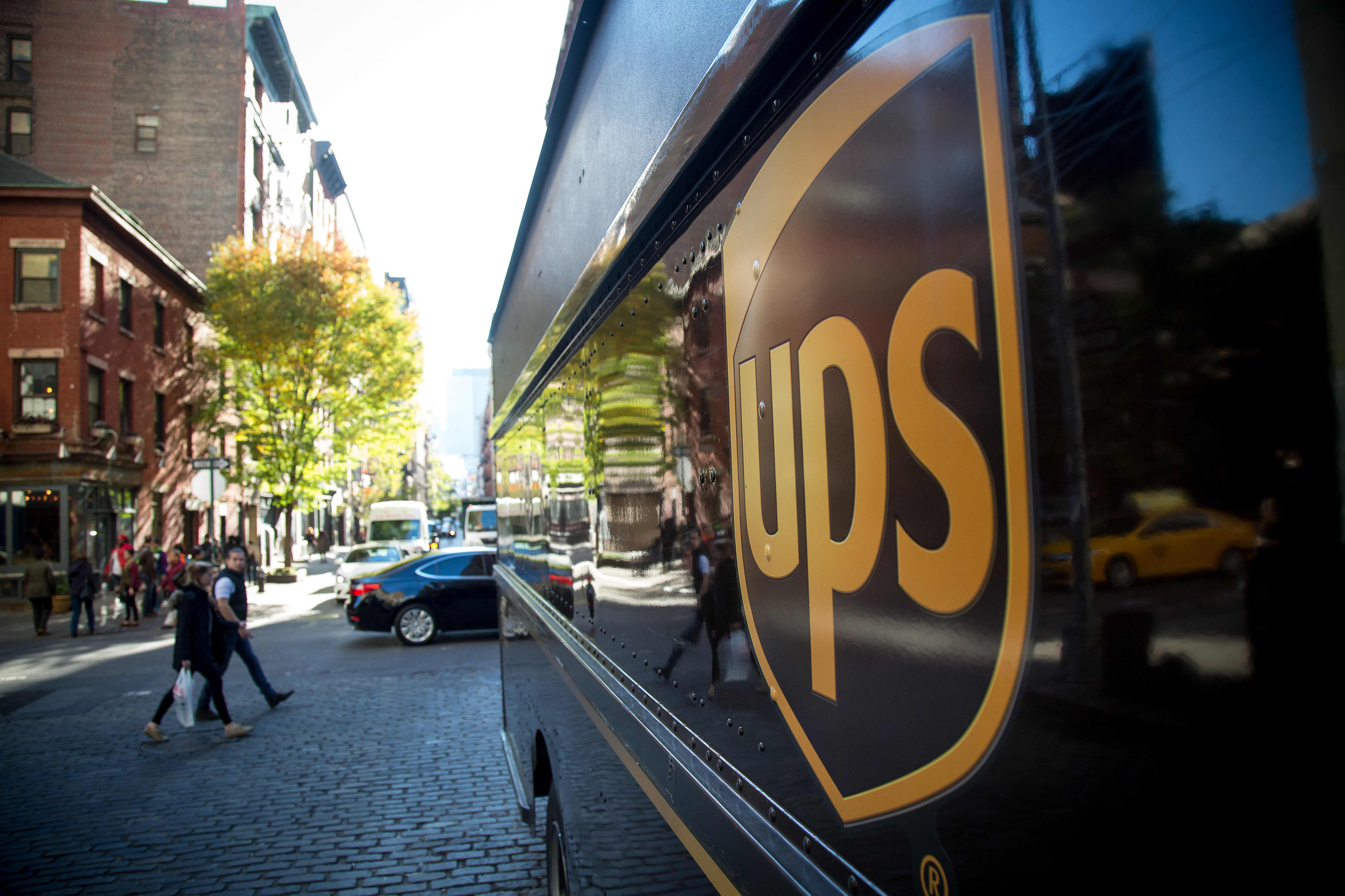 UPS CEO says U.S. deliveries slowed down final quarter as financial system reopened