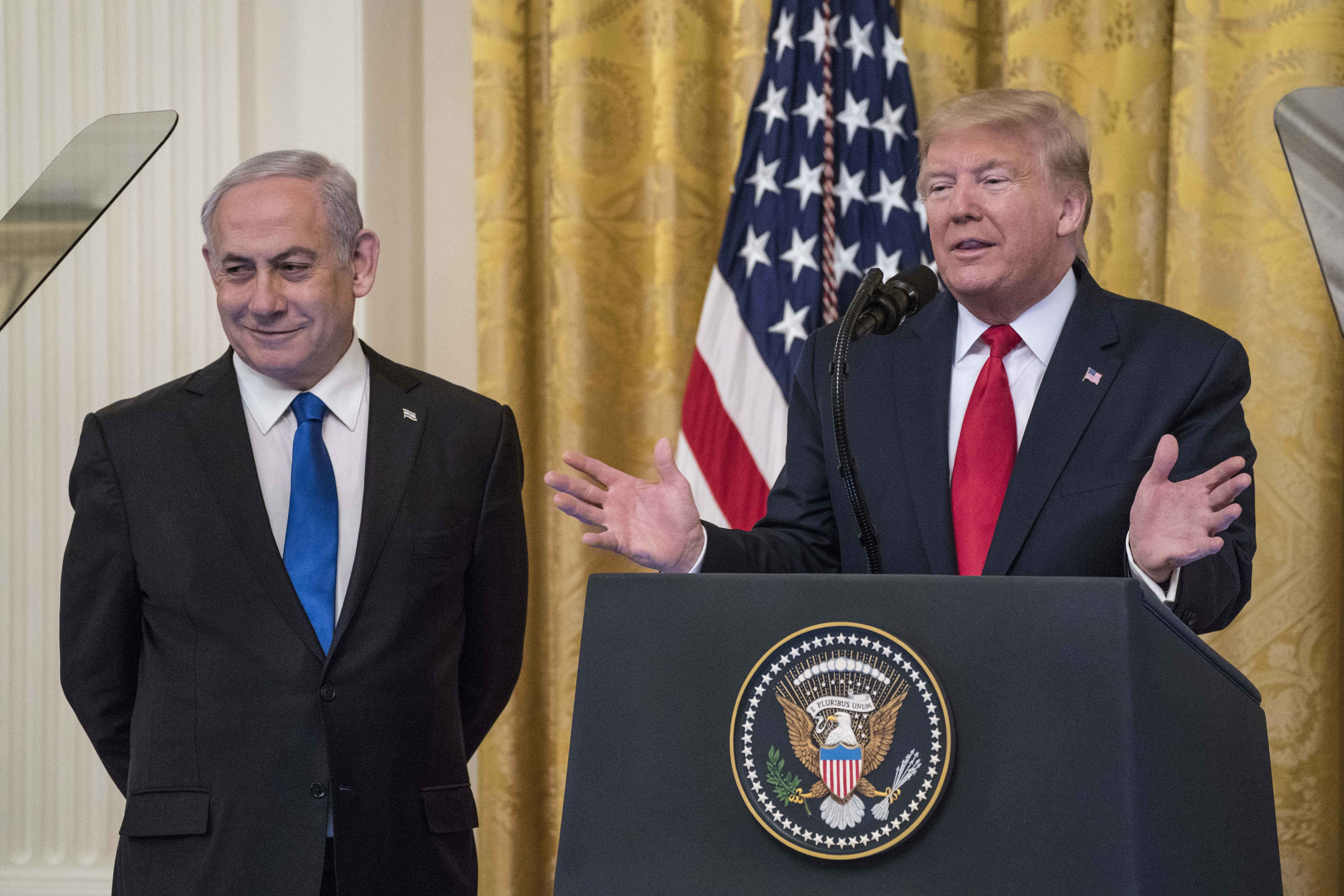 US, Israel have 'unique opportunity' in Middle East peace plan, but critics say deal is one-sided