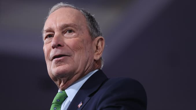 mike bloomberg political party