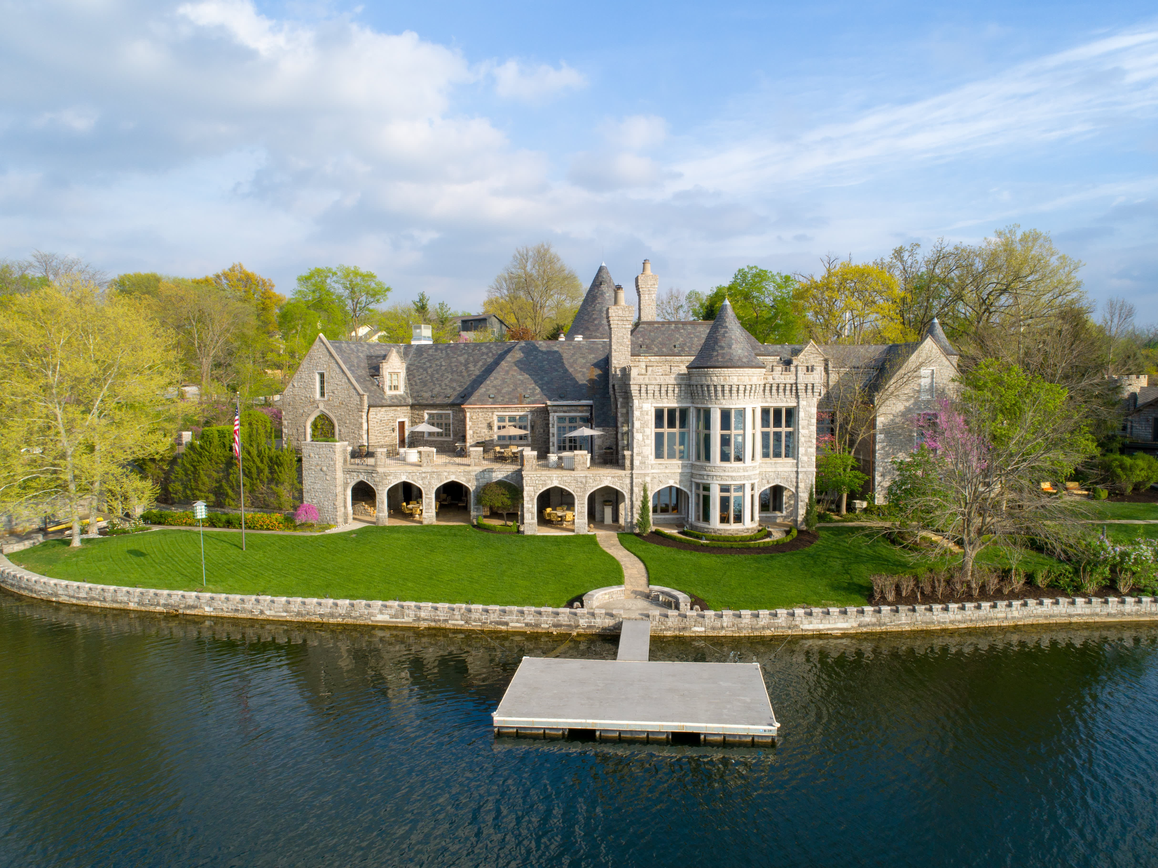 For the cost of a 30-second Super Bowl ad, you can buy a castle in Kansas City or a Miami condo—take a look