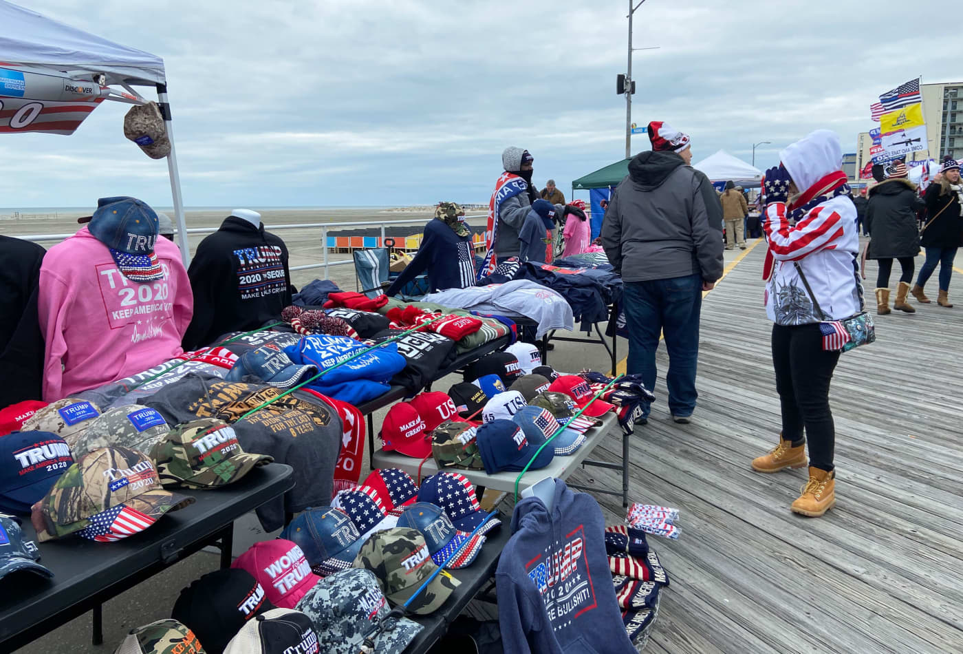 Trump's Wildwood rally was an economic 'shot in the arm' — but he still has to pay for it, mayor says