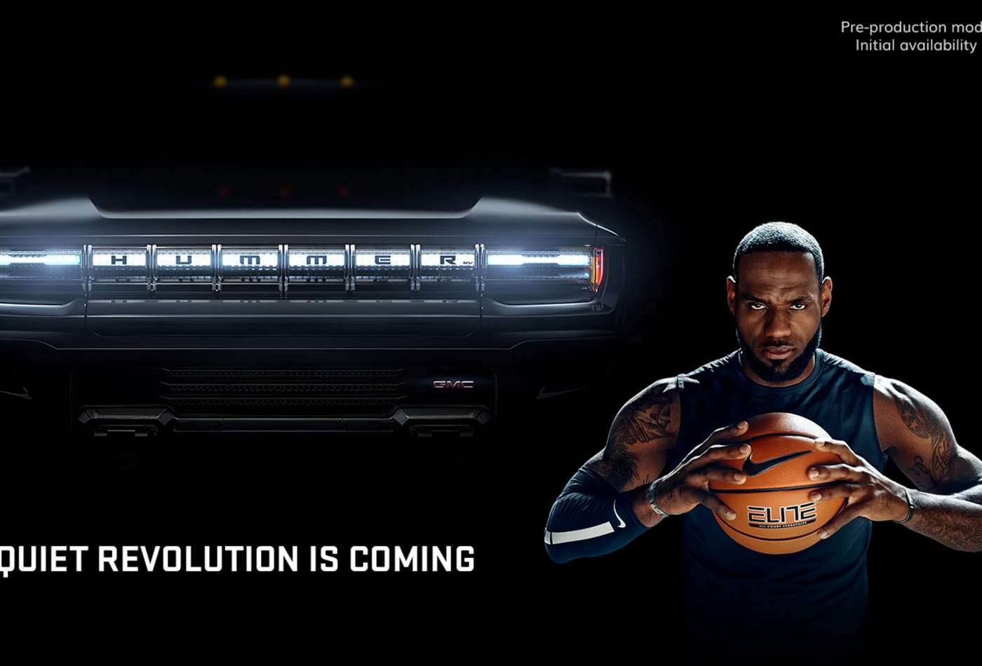 Watch GM's Super Bowl ad for the new all-electric Hummer with LeBron James