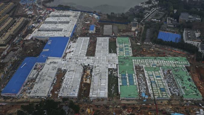 GP: Wuhan Huoshenshan Hospital Completed As Planned