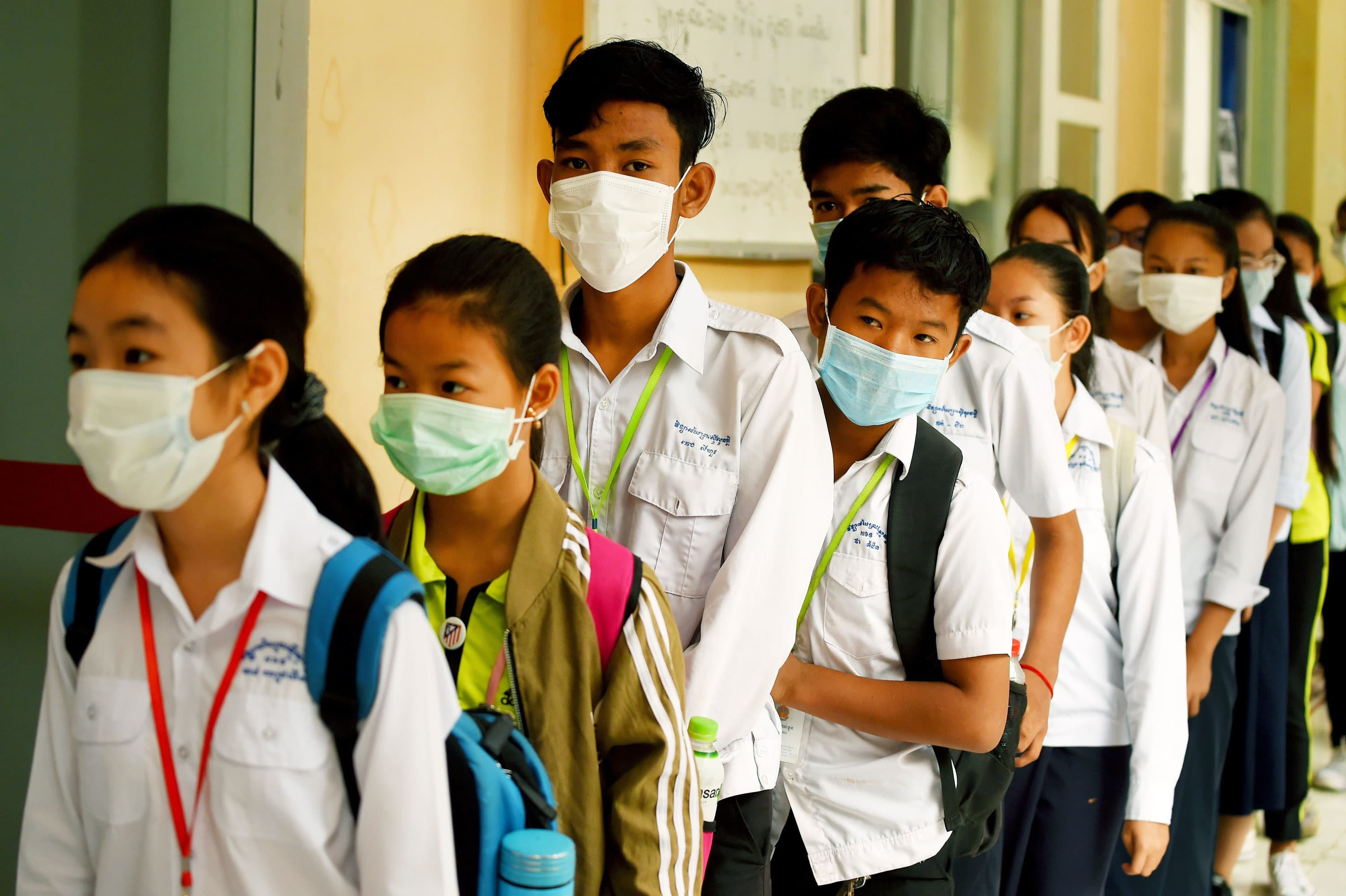 Almost 300 million kids missing school because of the coronavirus, UNESCO says