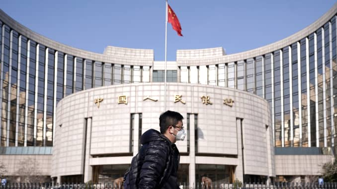 RT: Coronavirus: Central Bank of China