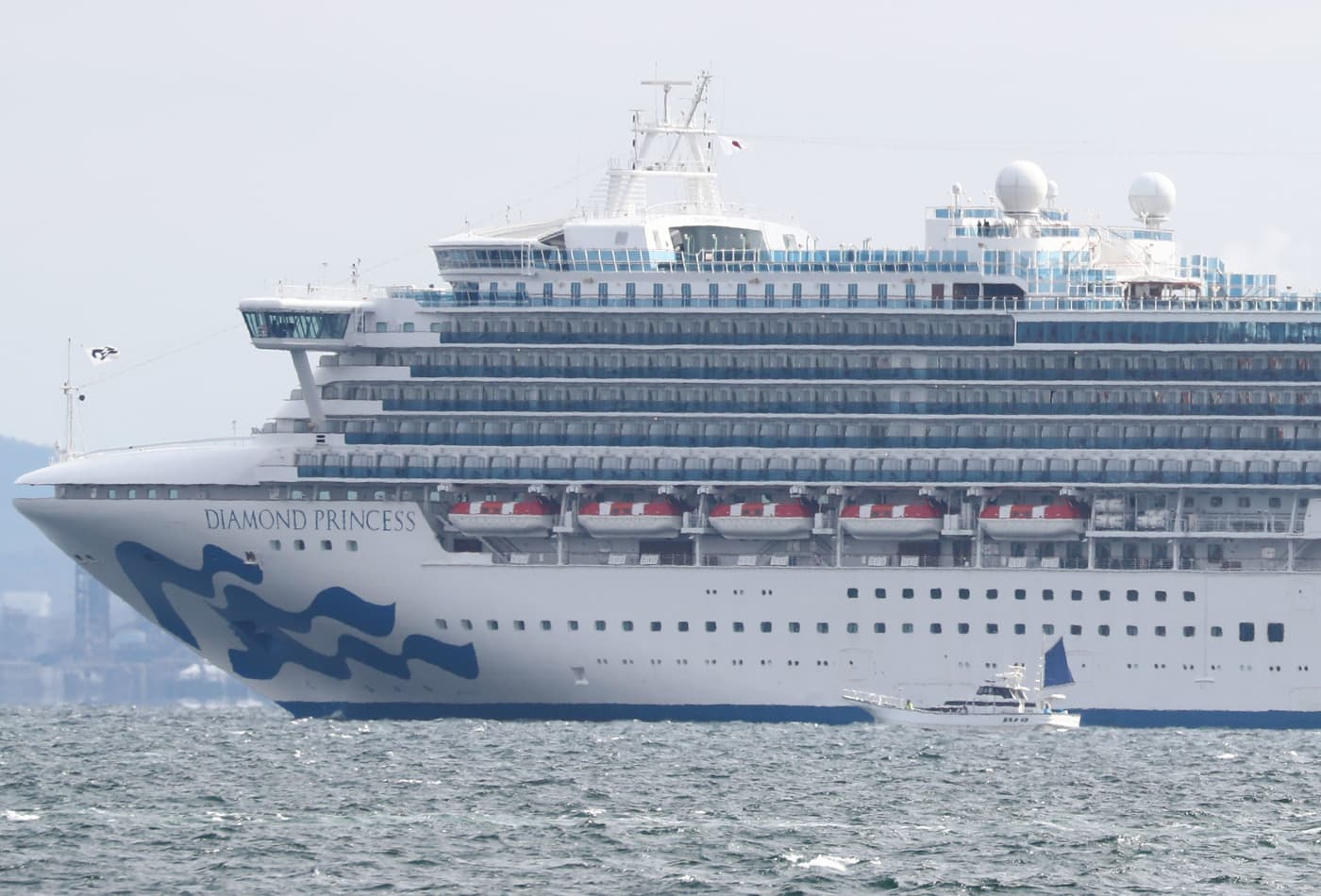 Princess Cruises quarantines 3,700 for two weeks on ship after 10 aboard test positive for coronavirus