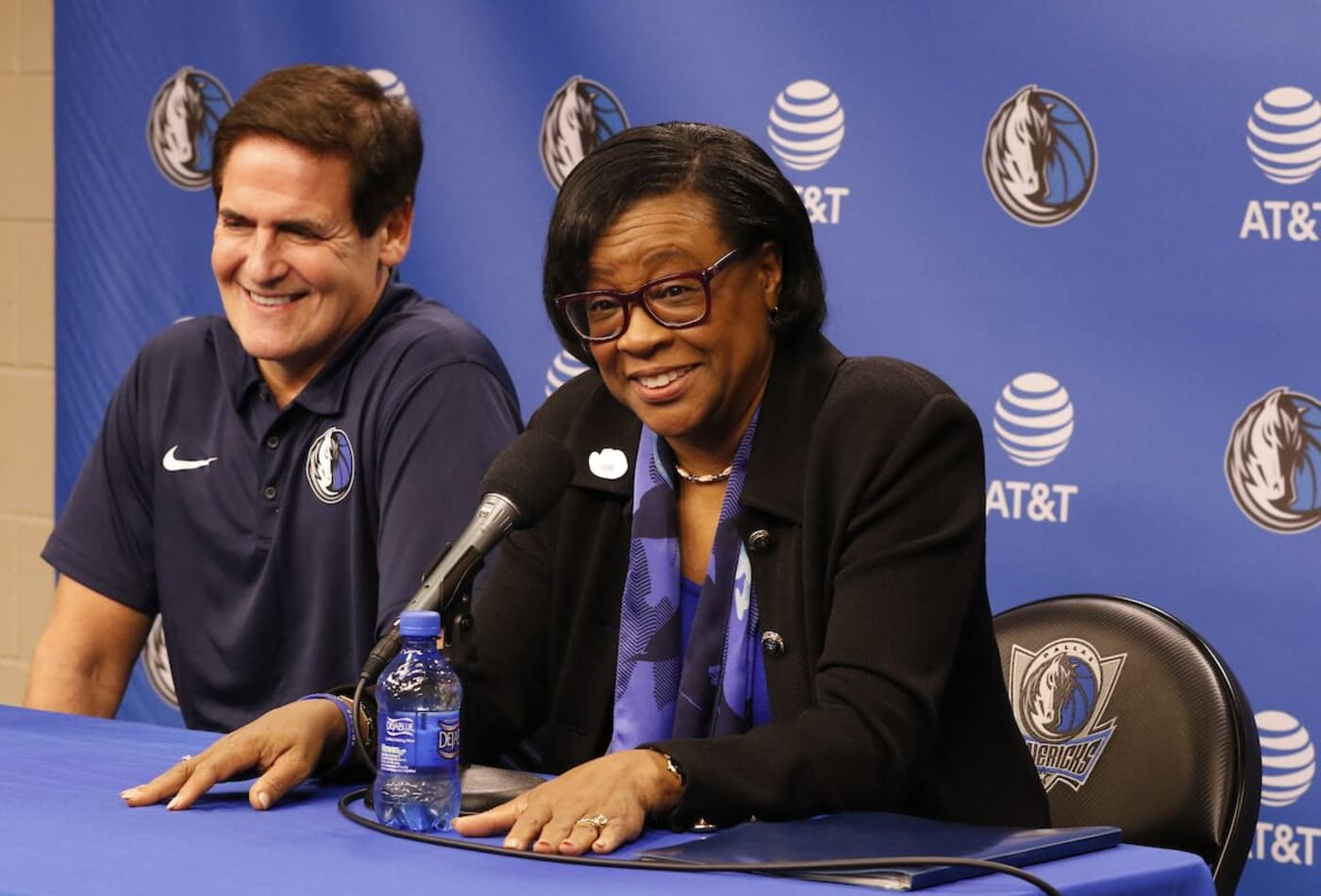From the first black cheerleader at Berkeley to making history as Mavericks CEO: How Cynt Marshall did it